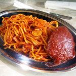 ハンバーグスパゲティのセット